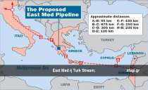 East Med ή Turk Stream;