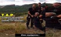Σύλληψη Θέμη Καλπακίδη, από TAP. (Video)